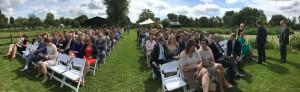 Wachten op de bruid en bruidegom