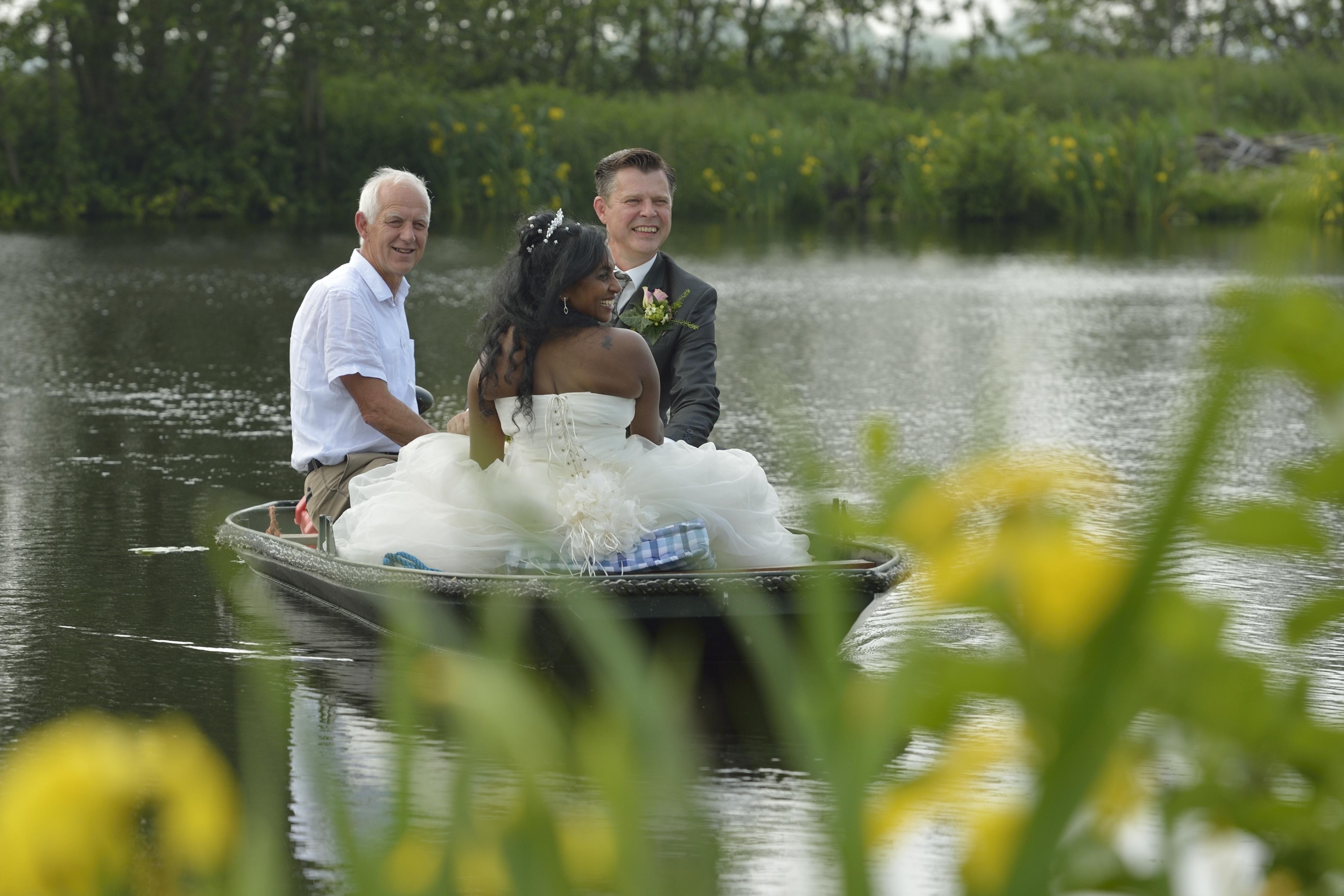 bruiloft Marylin en Chris